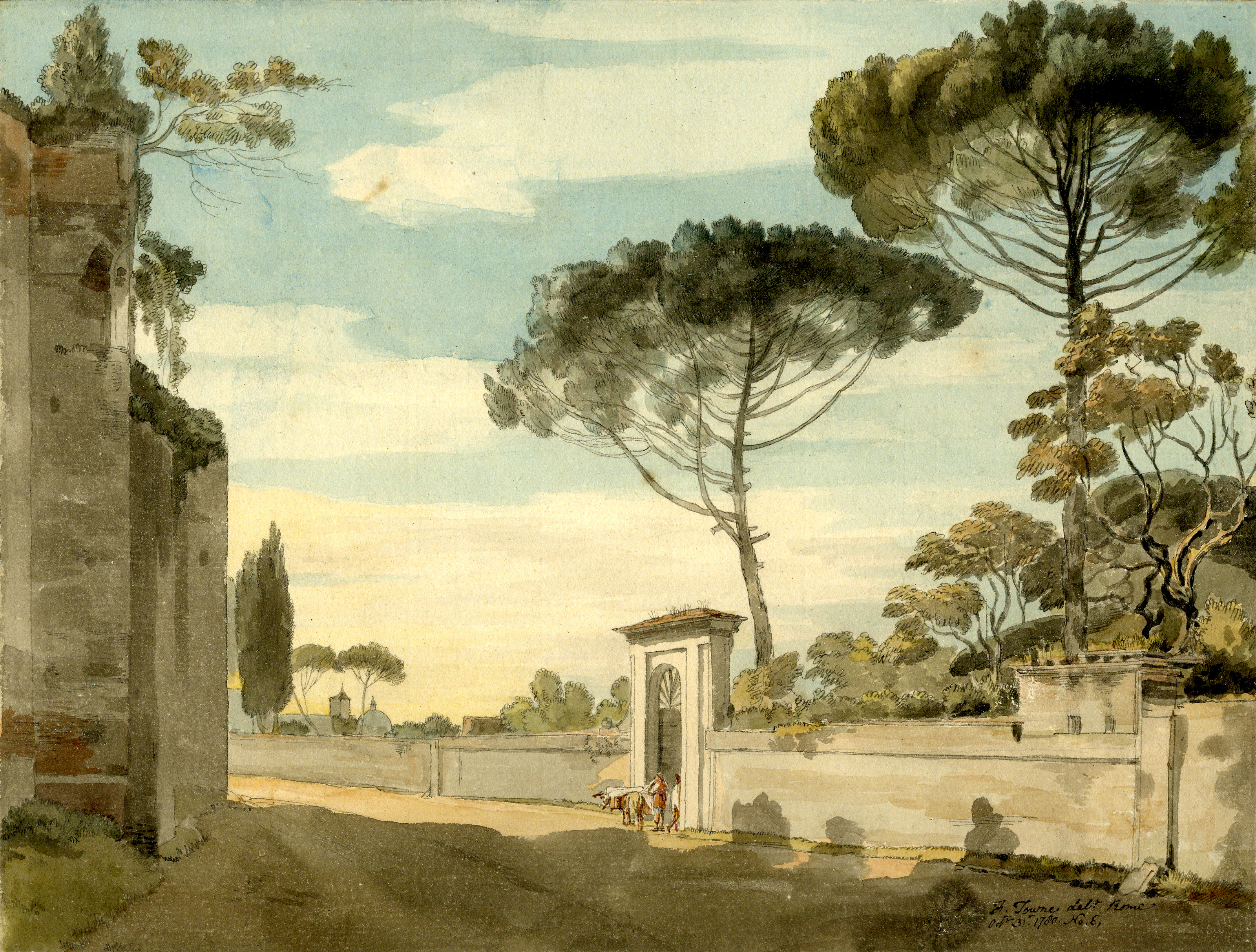 Light, time, legacy: Francis Towne\'s watercolours of Rome at the ...
