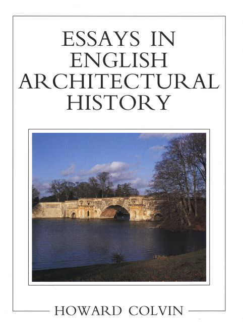 architectural history essays