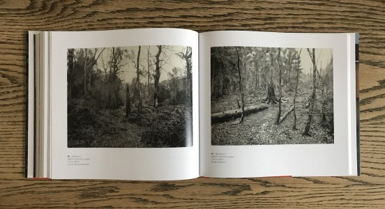 Double spread of book