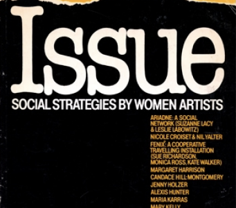 Cover of Issue: Social Strategies by Women Artists