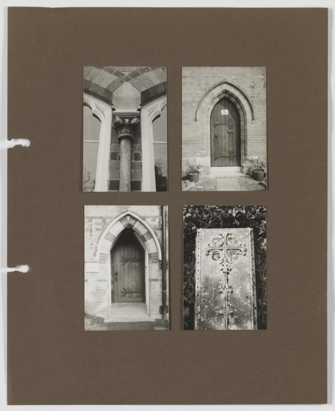 no date, photographic prints mounted on card. Collection of the Paul Mellon Centre, Paul Joyce Archive (Ref: PRJ/3/2c).