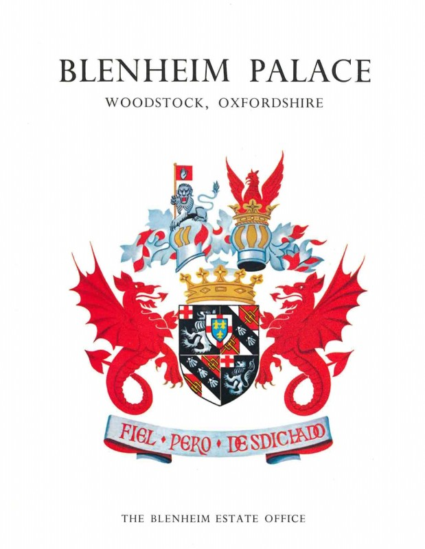 3. David Green 'Blenheim Palace' - Titlepage