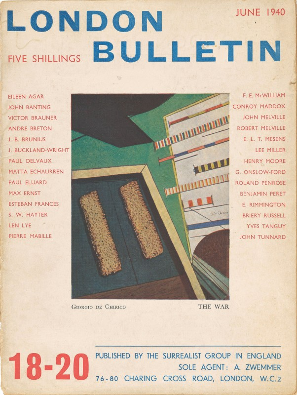 Front cover of the London Bulletin from June 1940