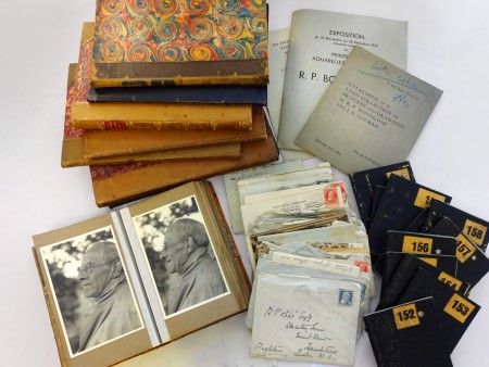 Material from the Paul Oppé Archive & Library